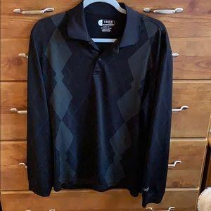 Men's Size M IZOD long sleeve golf shirt